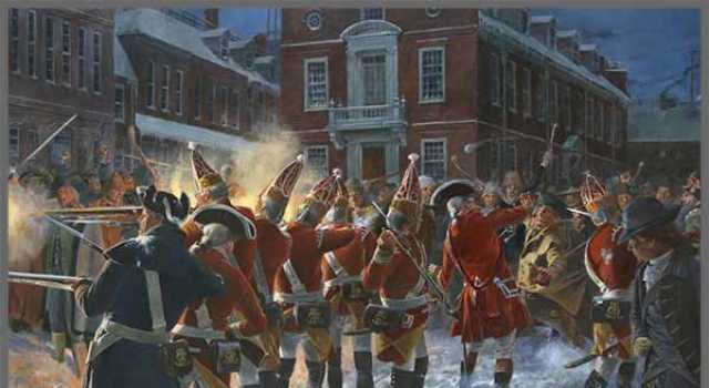 Boston Massacre Art