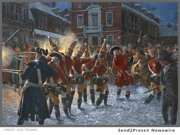 Boston Massacre Art