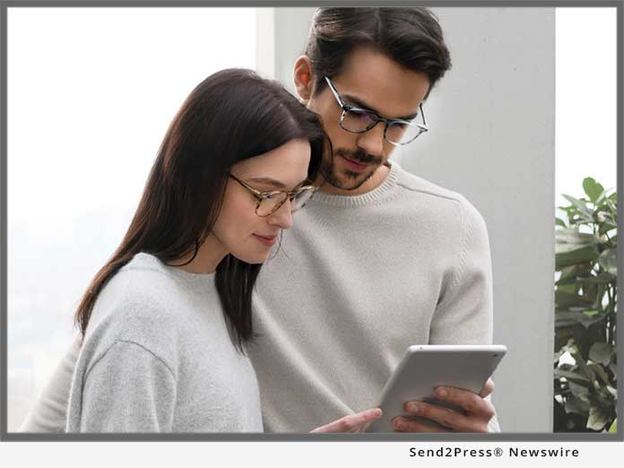 a059e06df0 EyeBuyDirect Introduces SightRelax Enhanced Digital Protection Prescription  Lenses for e-Workers