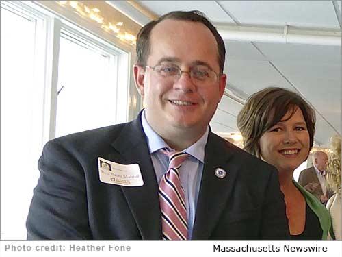 Rep. Brian Mannal and his wife, Sara