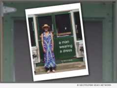 A Man Wearing a Dress - book