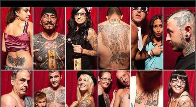 Boston Tattoo Convention - Credit: Erik Jacobs for the Boston Globe
