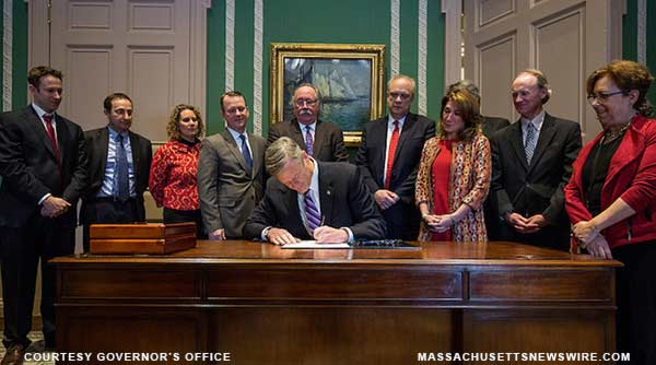 Baker Signs Bill Enabling Worcester Biomanufacturing Site